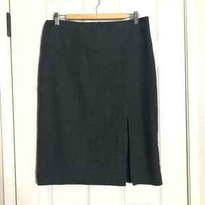 Banana Republic Stretch Slit Pencil Straight Skirt